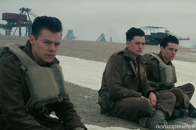 Том Харди, Гарри Стайлс и другие в первом трейлере военной драмы Кристофера Нолана «Дюнкерк»