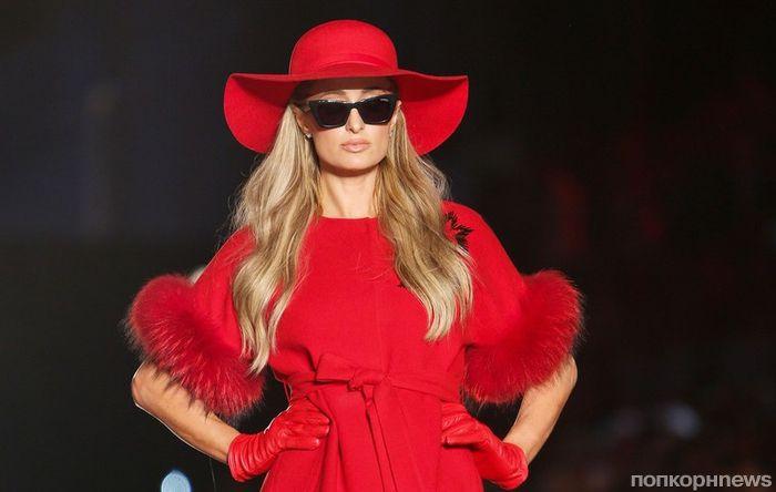 Фото: Пэрис Хилтон вышла на подиум в рамках модного показа в Турции