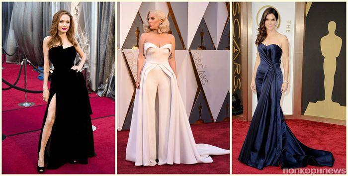 Голосуем за самые стильные наряды знаменитостей в истории «Оскара»!