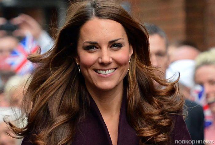 Кейт Миддлтон пожертвовала свои волосы благотворительному фонду
