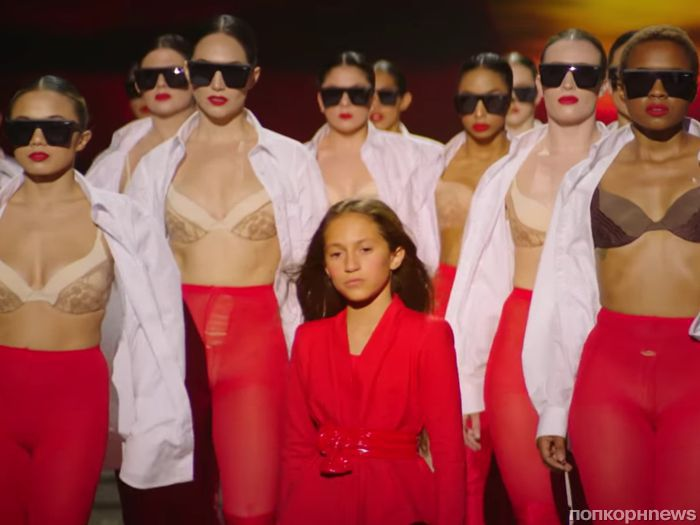 Дженнифер Лопес сняла 10-летнюю дочь в своем новом клипе