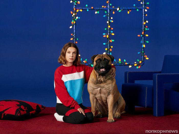 Милли Бобби Браун снялась в рекламной кампании Calvin Klein