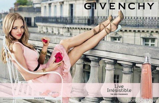 Аманда Сейфрид снялась в рекламном ролике нового аромата Givenchy LiveIrrésistible