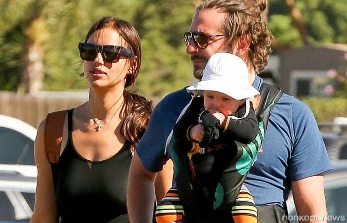 СМИ: Ирина Шейк беременна вторым ребенком от Брэдли Купера