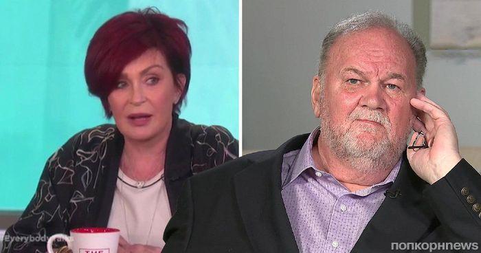 Шэрон Осборн публично осудила отца Меган Маркл: «Сначала протрезвейте»