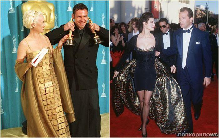 Модное безумие: топ 20 трэш-выходов звезд на красную дорожку «Оскара»