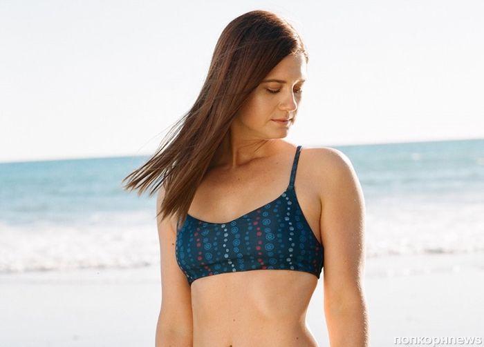 Звезда «Гарри Поттера» Бонни Райт снялась в рекламе экологичных купальников