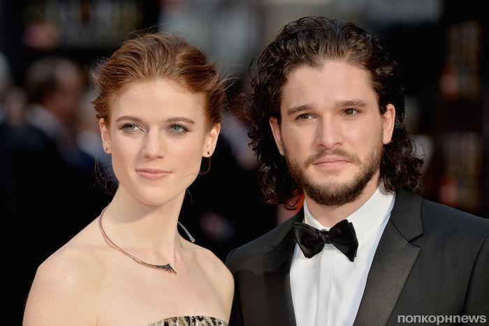 Звезды «Игры престолов» Кит Харингтон и Роуз Лесли готовятся к свадьбе