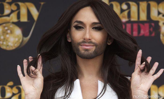 До и после: бородатая женщина Кончита Вурст превратилась в брутального блондина