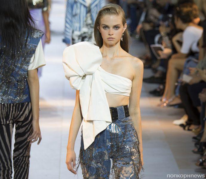 Модный показ новой коллекйии Roberto Cavalli. Весна / лето 2016