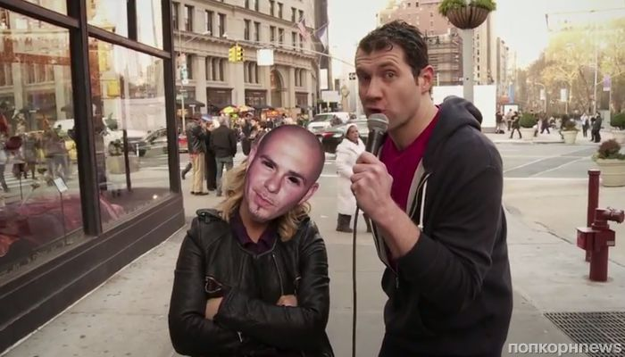 Видео: Эми Полер пробежалась под личиной Pitbull