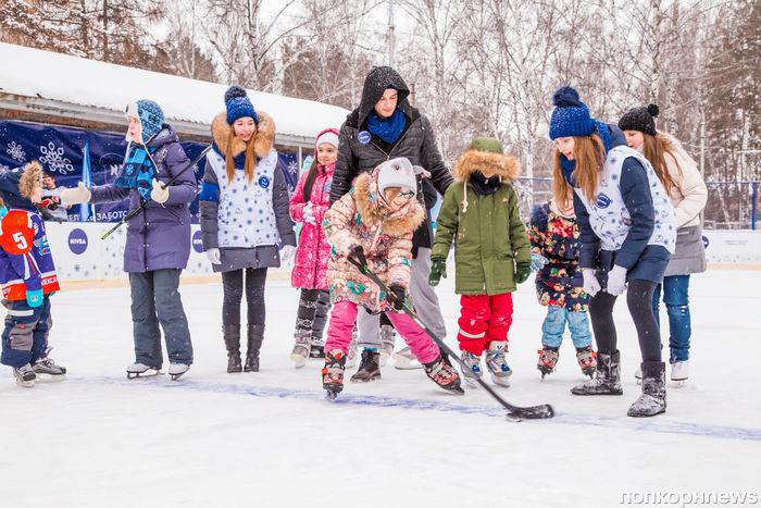 NIVEA отпразднует 5-летний юбилей социальной акции  «Голосуй за свой каток! » открытием трех новейших ледовых площадок