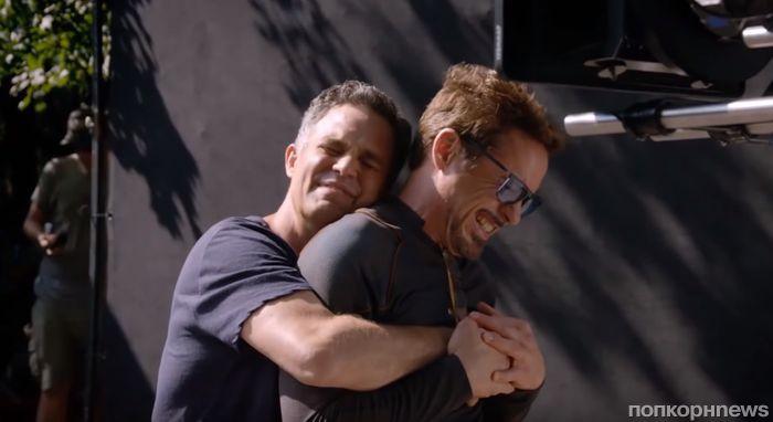 Видео: умиляемся «семейной атмосфере» на съемках «Мстителей: Война бесконечности»