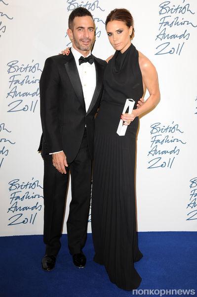 Звезды на церемонии British Fashion Awards 2011