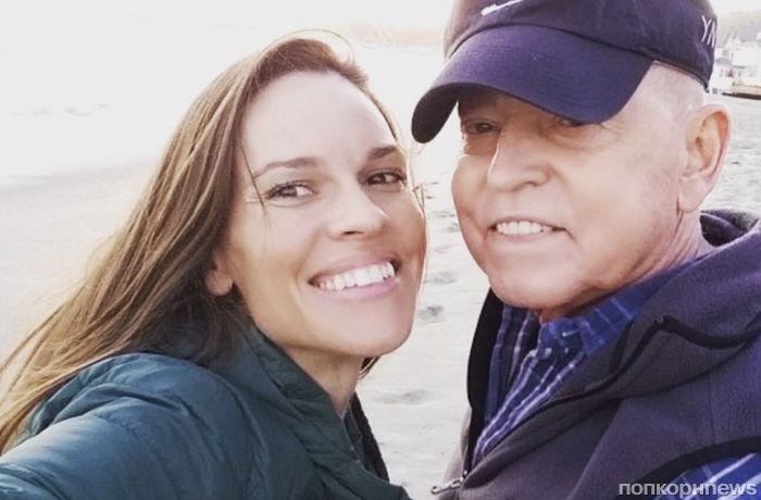Хилари Суонк ушла из Голливуда ради больного отца