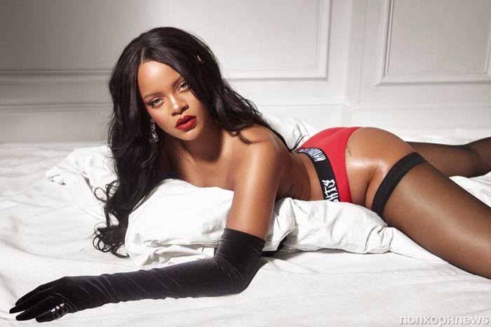 Фото: Рианна в рекламной кампании коллекции нижнего белья Savage x Fenty