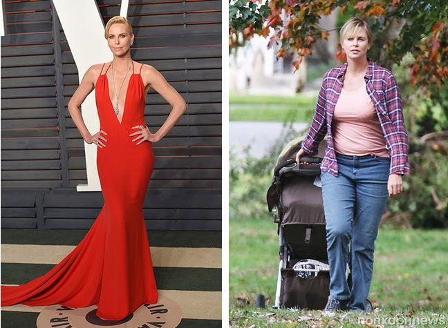 Шарлиз Терон набрала 16 кг ради новой роли