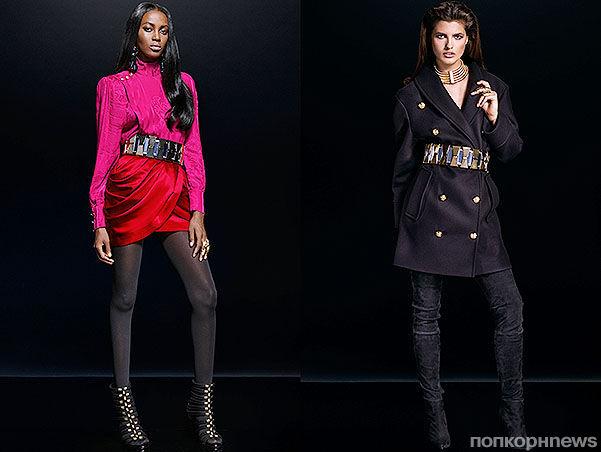 Balmain x H&M представили лукбук новой коллекции