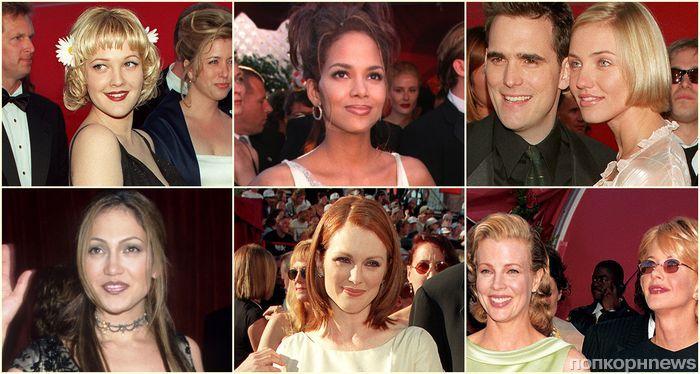 Пятиминутка ностальгии: как выглядели звезды на красной дорожке «Оскара» 20 лет назад