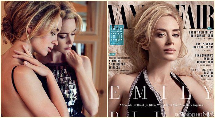 Эмили Блант объяснила, почему отказывается делать селфи с фанатами, в фотосете для Vanity Fair
