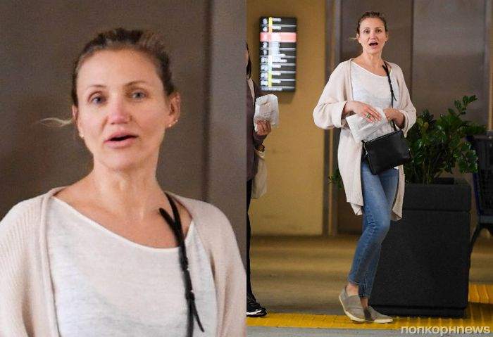 Без макияжа и каблуков: Камерон Диаз наслаждается своей «отставкой» в Лос-Анджелесе