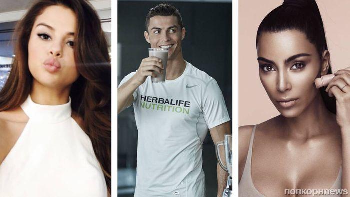 Селена Гомес возглавила рейтинг доходов от Instagram