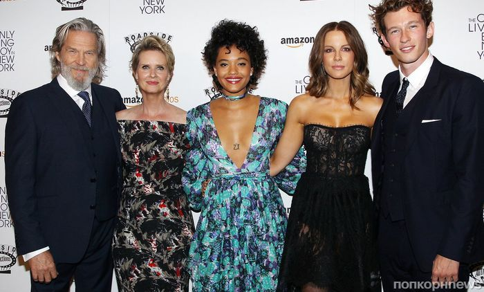 Кейт Бекинсейл, Джефф Бриджес и другие звезды на премьере «Единственный живой парень в Нью-Йорке»