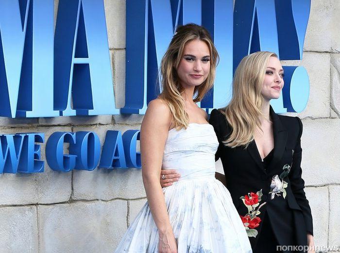 Премьера «Mamma Mia 2» в Лондоне: Аманда Сейфрид, Мерил Стрип, Колин Ферт, Шер и другие звезды на красной дорожке
