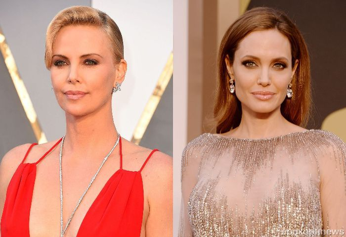 Шарлиз Терон опровергла слухи о многолетнем конфликте с Анджелиной Джоли
