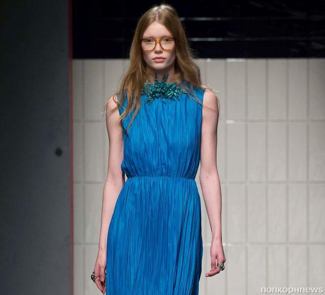 4cc8b773acfe Модный показ новой коллекции Gucci. Осень   зима 2015-2016