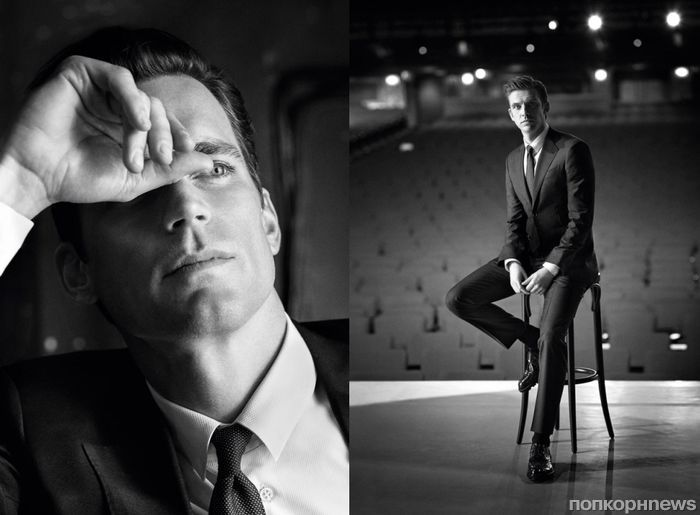 Мэтт Бомер и Дэн Стивенс вновь снялись в рекламной кампании Giorgio Armani