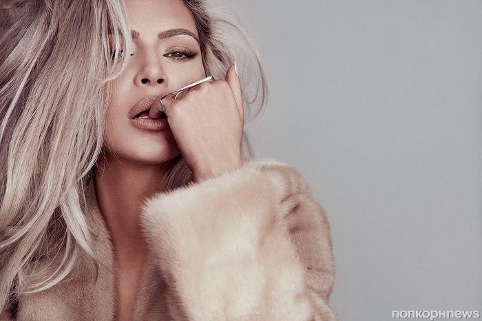 Ким Кардашьян похвасталась шестой обложкой Vogue