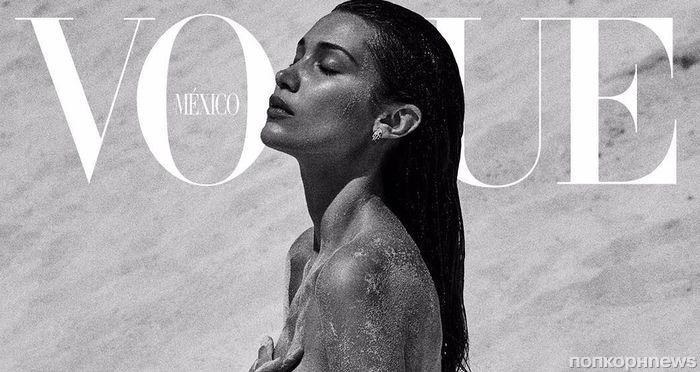 Белла Хадид снялась топлес для обложки Vogue