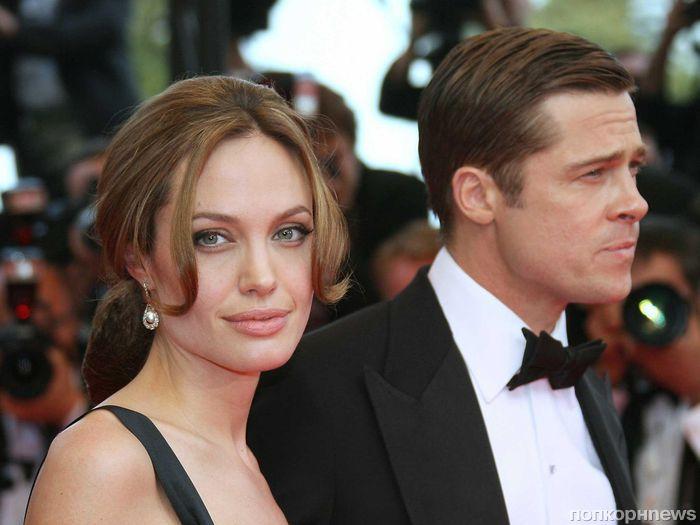 Анджелина Джоли взыщет у Брэда Питта алименты через суд