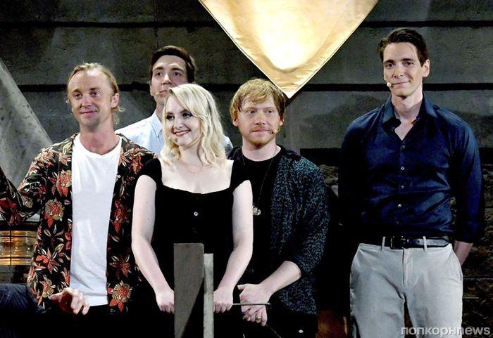 Руперт Гринт, Том Фелтон, братья Фелпс и другие звезды «Гарри Поттера» в Universal Studios
