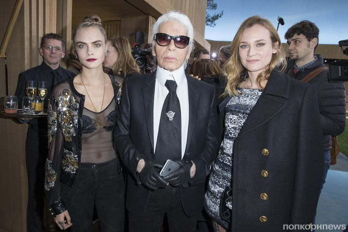 Карл Лагерфельд опроверг слухи об уходе из Chanel