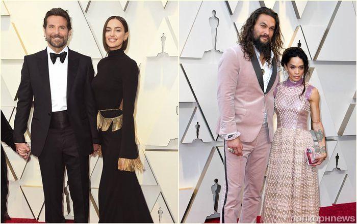 Фото: самые стильные пары на красной дорожке «Оскара»