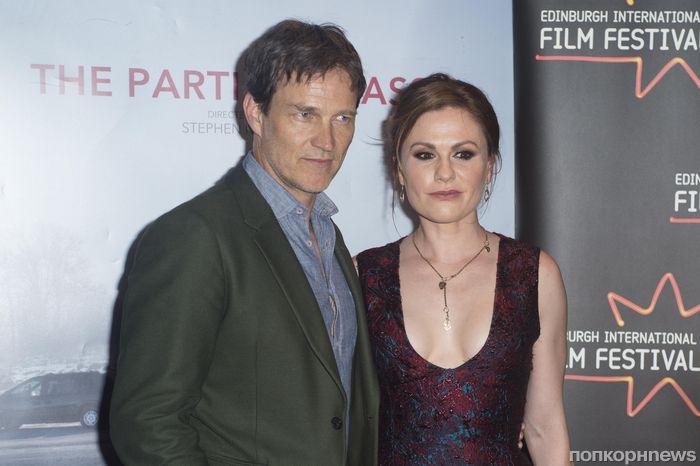 Фото: Анна Пакуин и Стивен Мойер на премьере своего нового фильма в Шотландии
