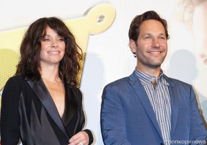 Пол Радд и Эванджелин Лилли привезли «Человека-муравья и Осу» на премьеру в Токио