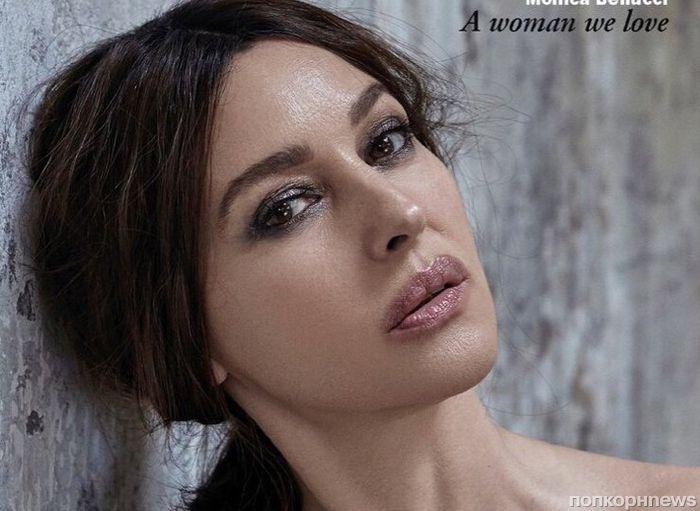 Моника Беллуччи в фотосессии для августовского номера Esquire Spain