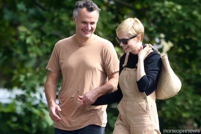 Мишель Уильямс впервые появилась на публике с новым мужем
