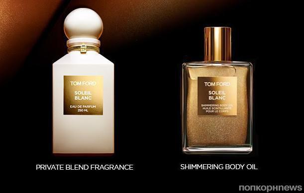Soleil Blanc: Tom Ford выпускает новый женский аромат