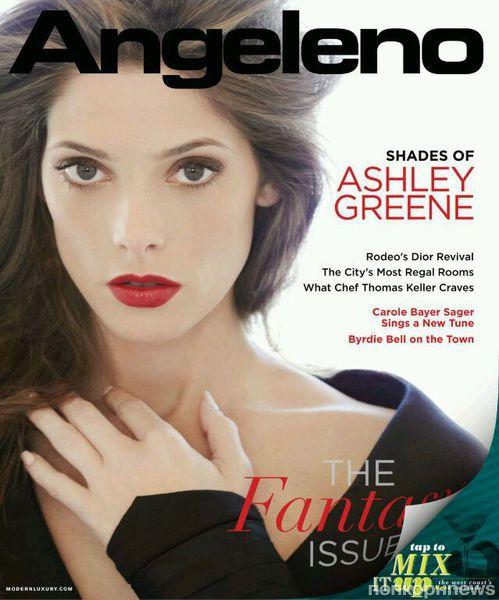Эшли Грин в журнале Angeleno. Ноябрь 2012
