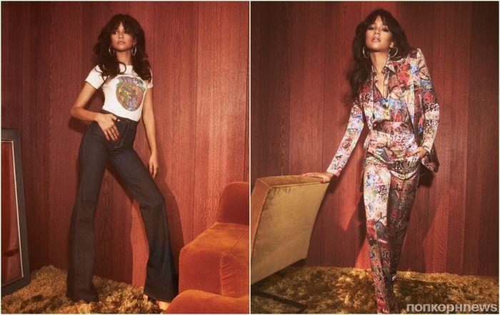 Семидесятые снова в моде: Зендая представила стильную коллекцию для Tommy Hilfiger