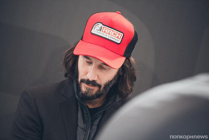 Киану Ривз стал гостем мото шоу в Италии