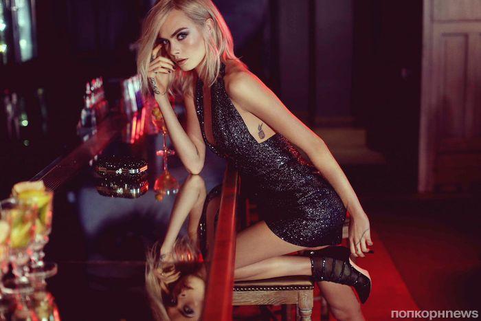 Видео: Кара Делевинь снялась в рекламной кампании Jimmy Choo