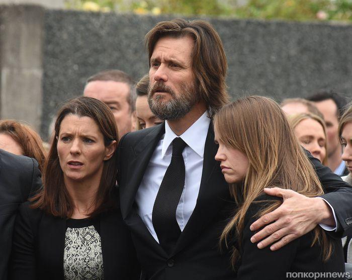Джим Керри высказался о смерти бывшей девушки
