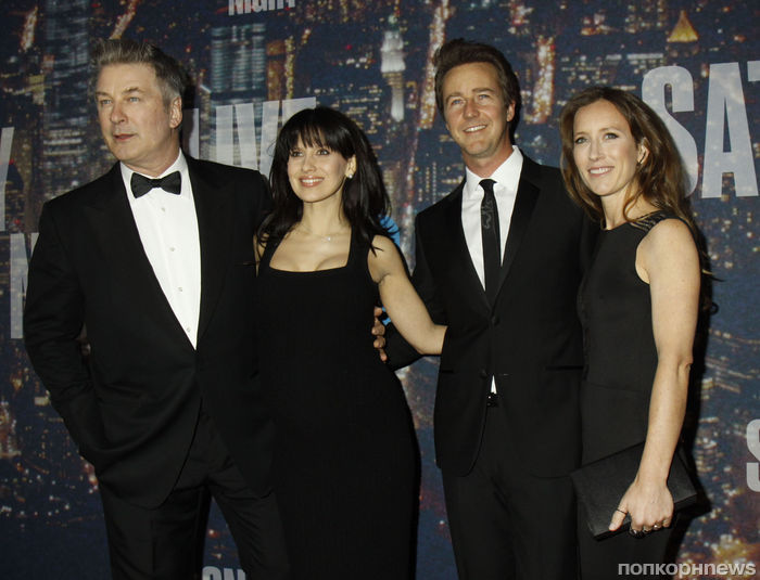Звезды на юбилейном вечере Saturday Night Live