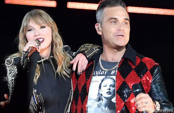 Видео: Робби Уильямс спел дуэтом с Тейлор Свифт