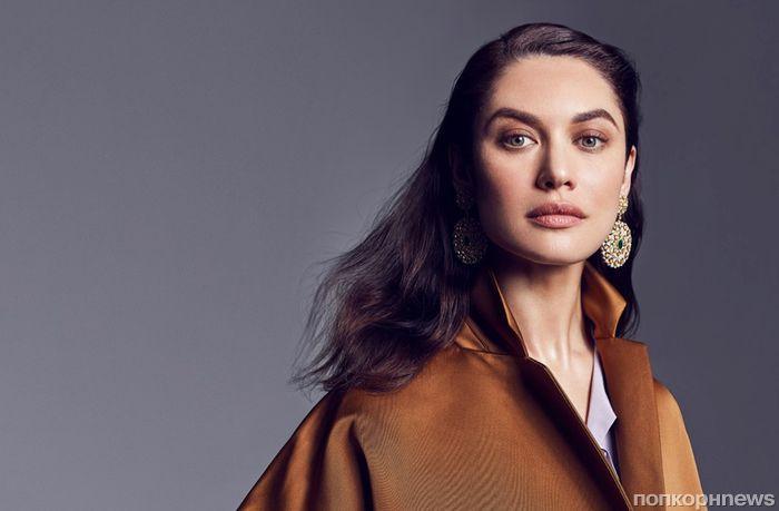Ольга Куриленко примеряет роскошные украшения в фотосете для Vanity Fair